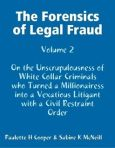 11 04 14 Book cover Forensics of Legal Fraud