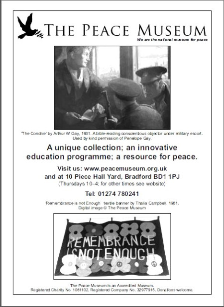 peace museum leaflet